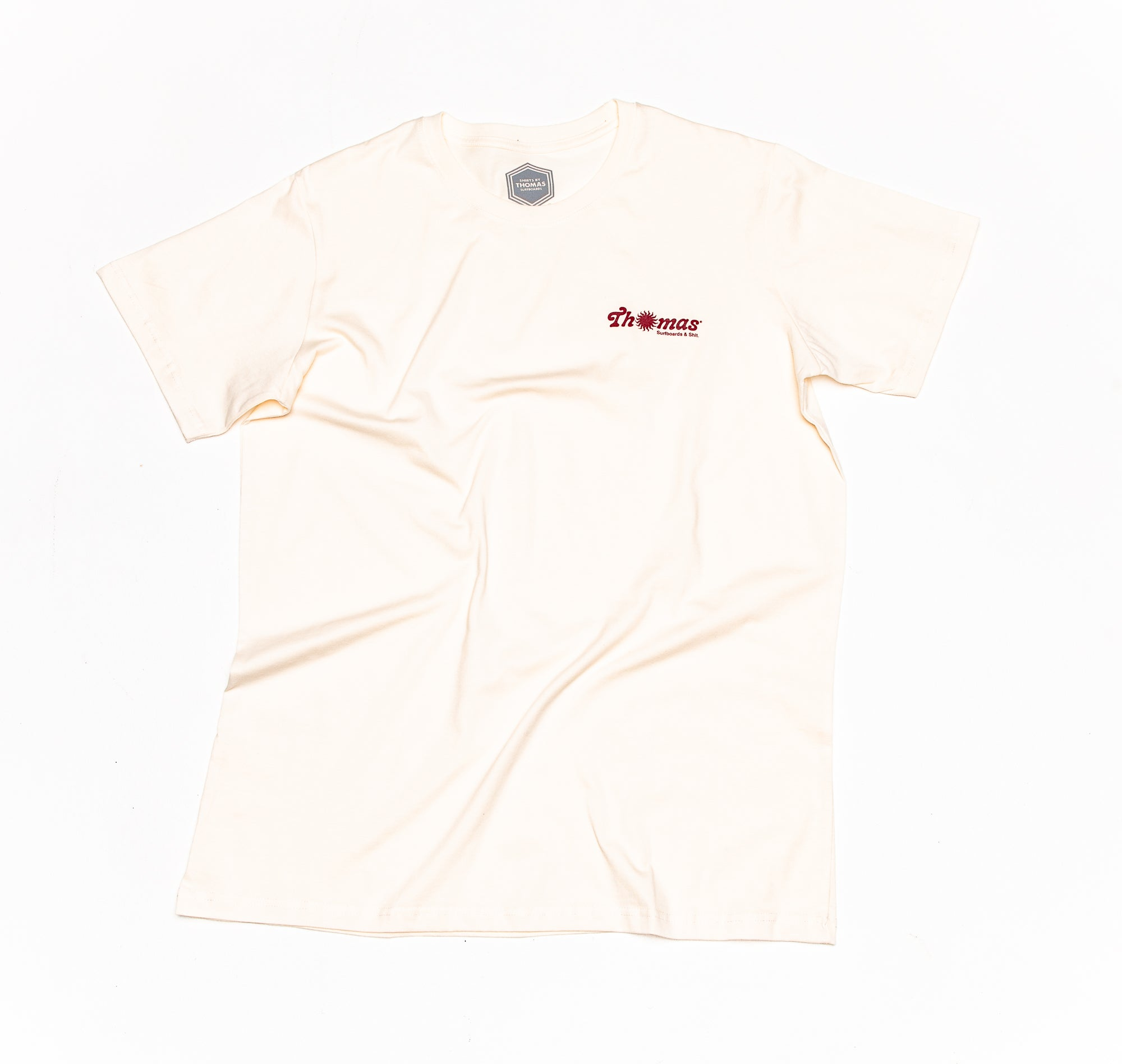 Thomas Surfboards & Shit T-Shirt Cream