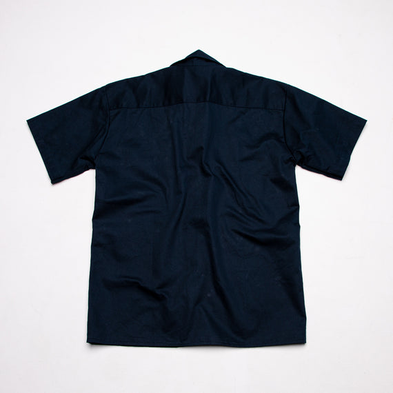 Thomas Surfboards & Captain Sip Sops Colab Stay Bold Work Shirt Navy