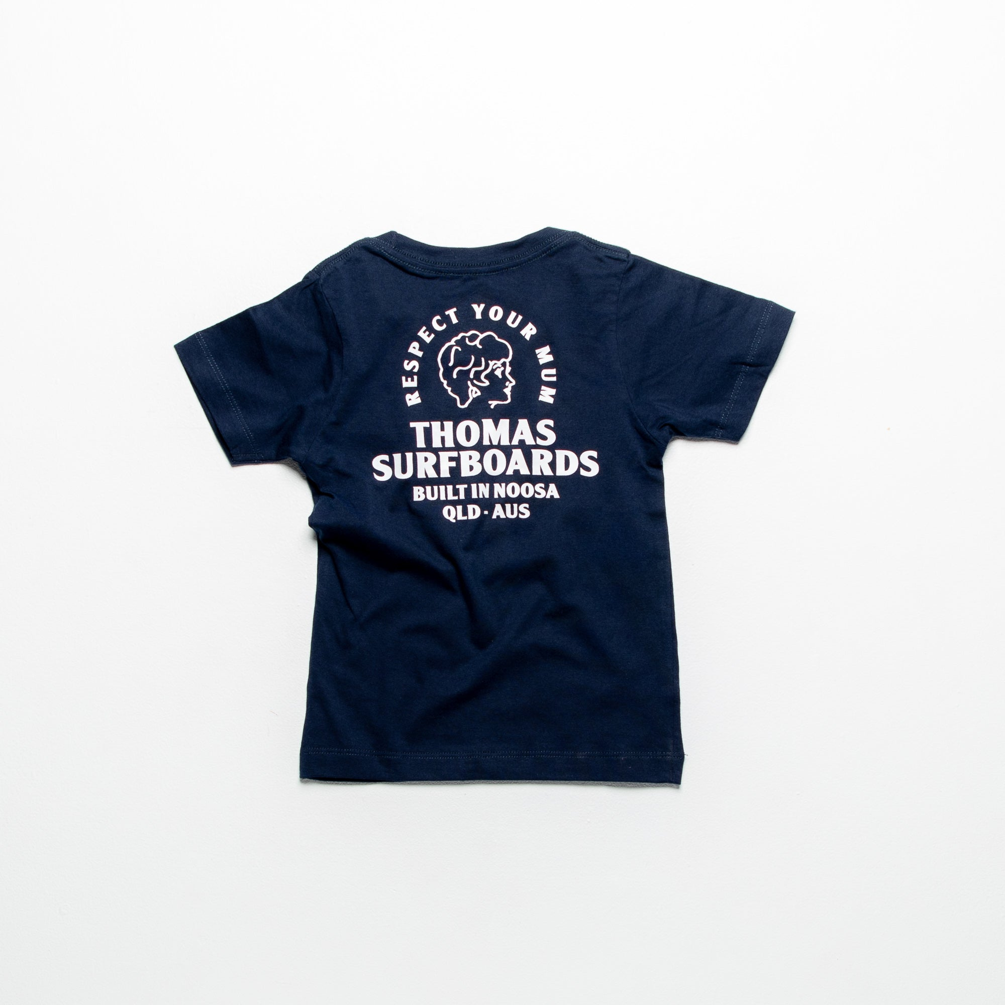 Thomas Girl Head Kids T-Shirt Dark Navy