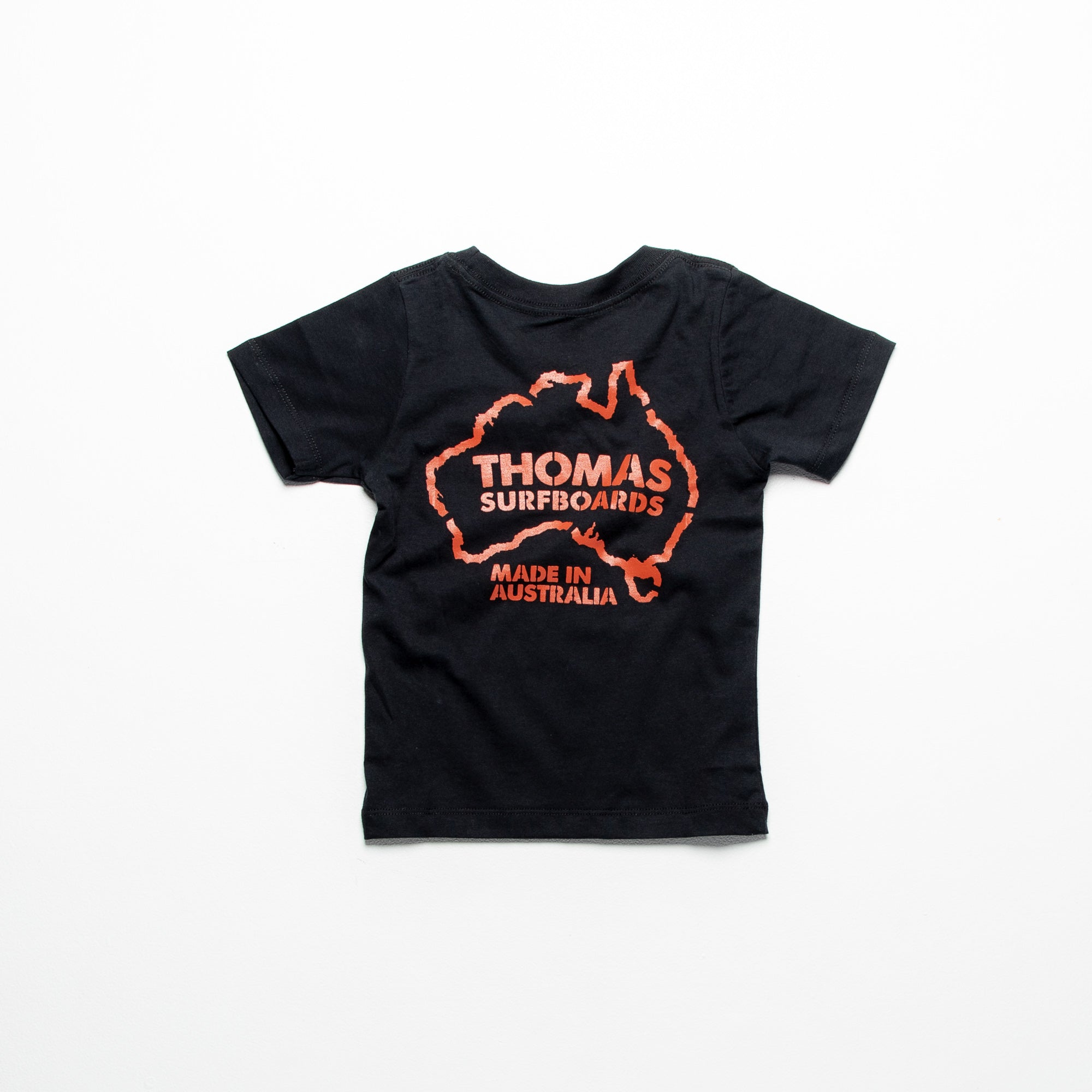 Thomas Box Label Kids T-Shirt Black