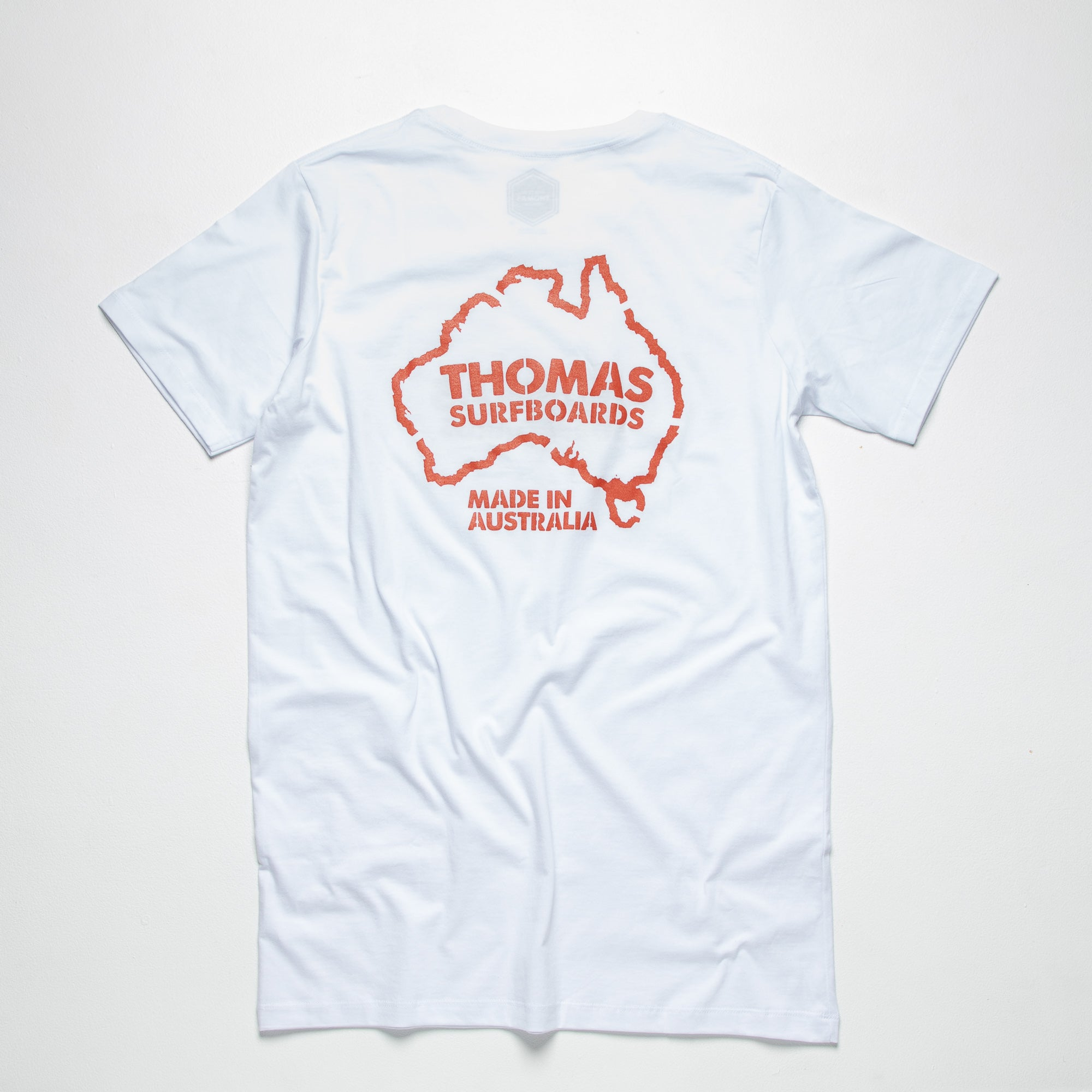 Thomas Box Label T-Shirt White