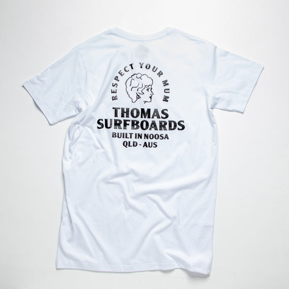 Thomas Girl Head T-Shirt White