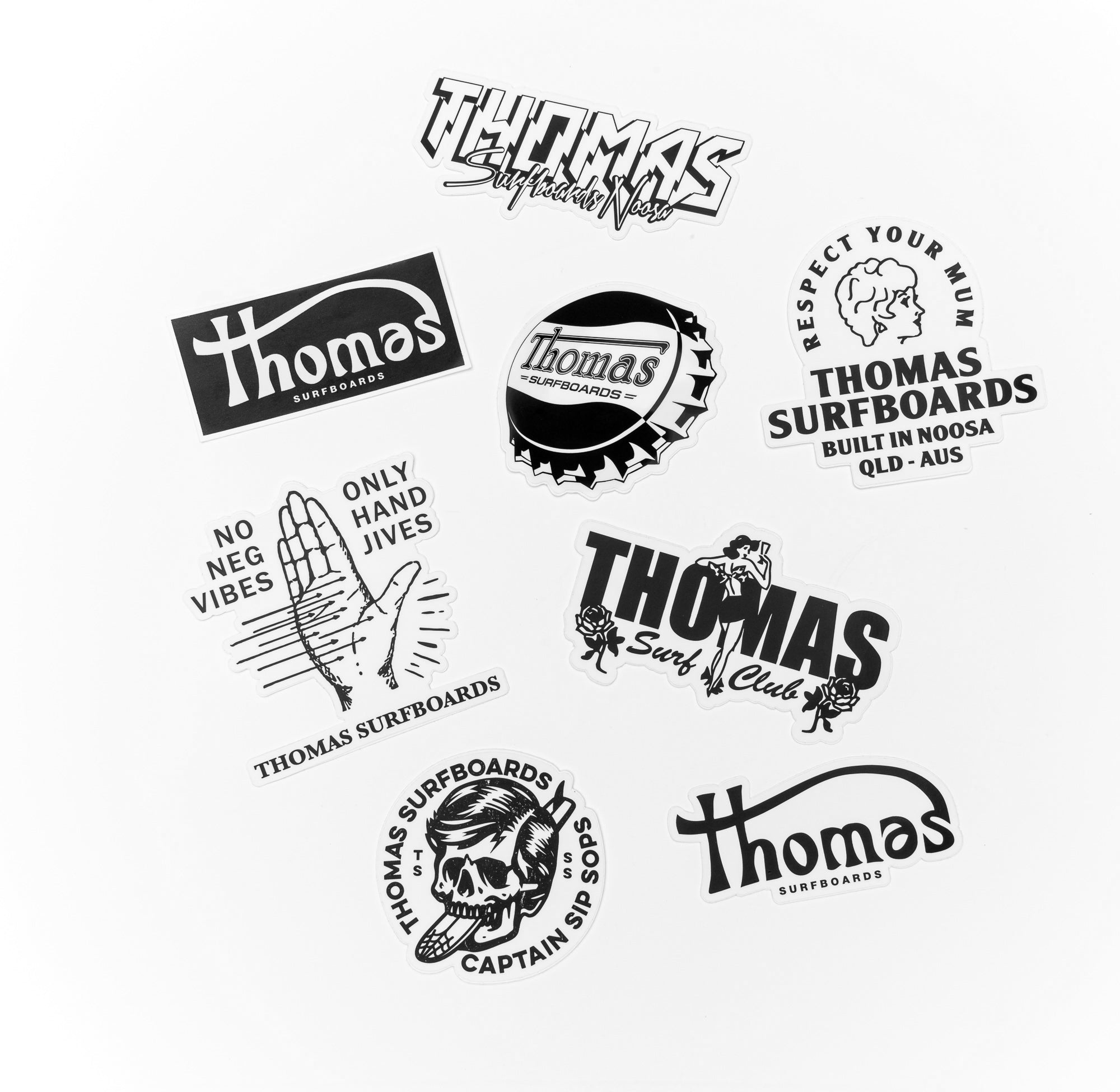 Thomas Sticker packs