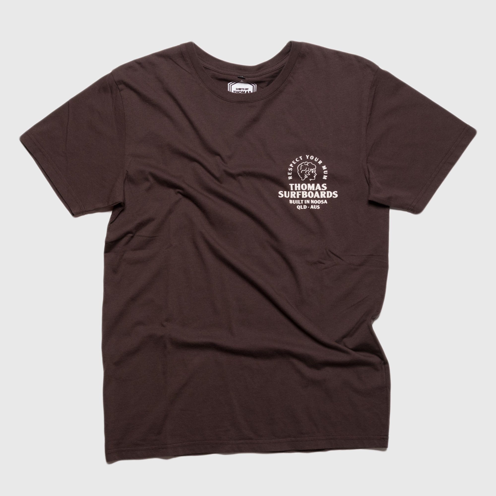 Thomas Girl Head T-Shirt Brown