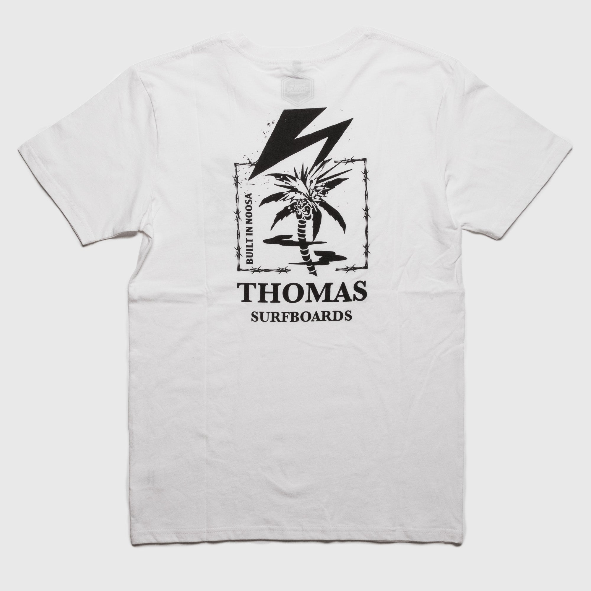 Thomas Palm Lightning T-Shirt White