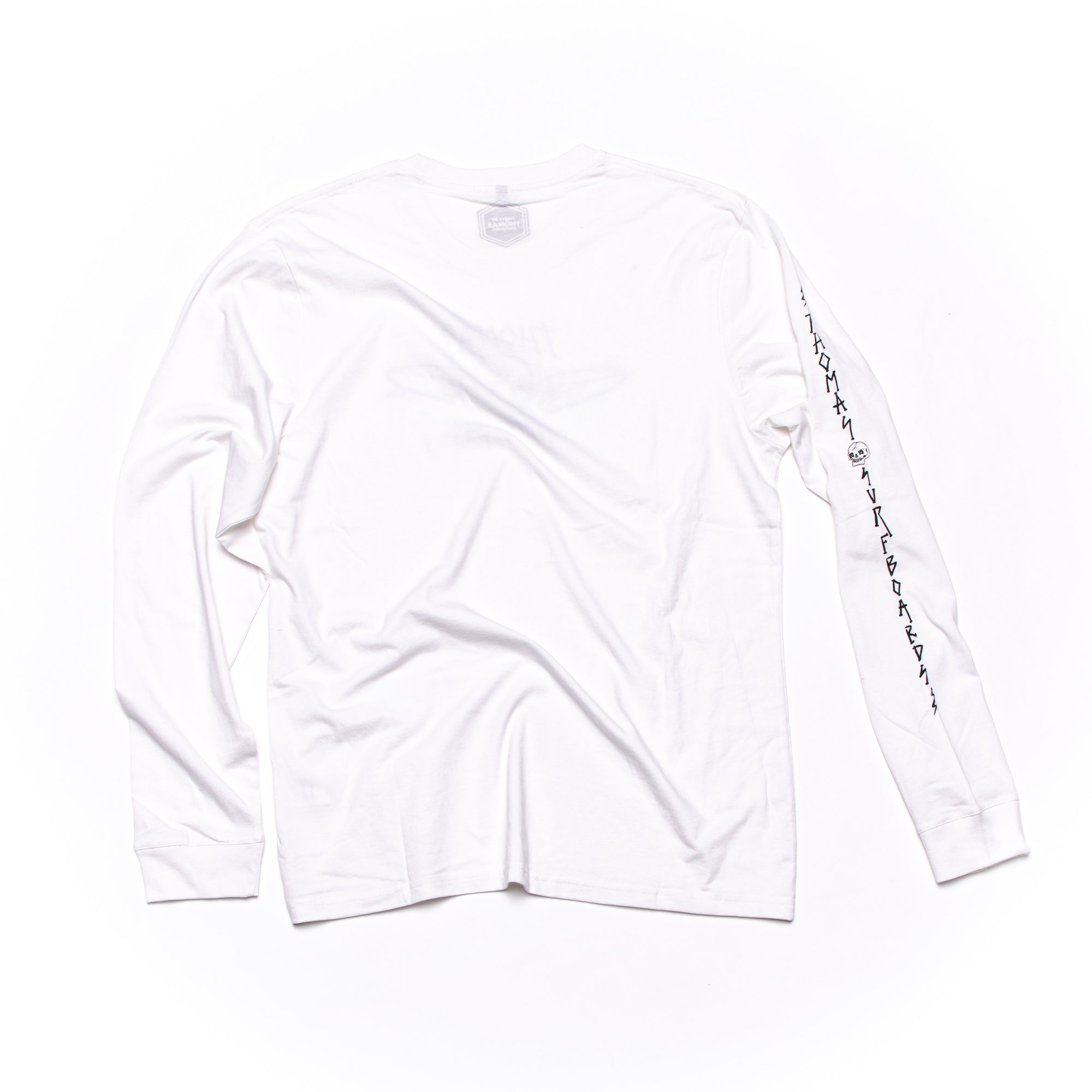 Thomas x Ady Putra Skull Long Sleeve T-Shirt White
