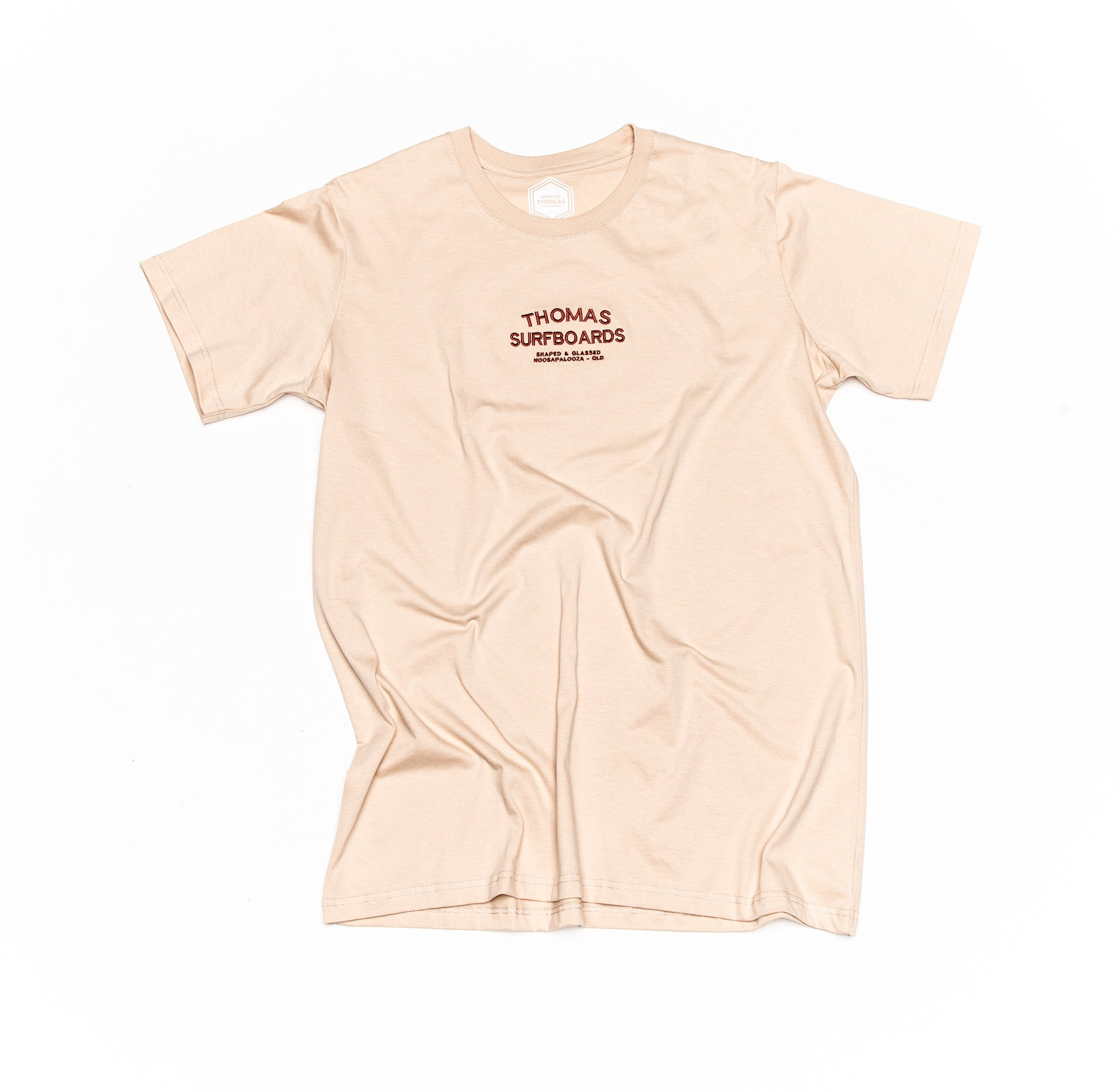 Thomas Noosapalooza Embroidered T-Shirt Sand