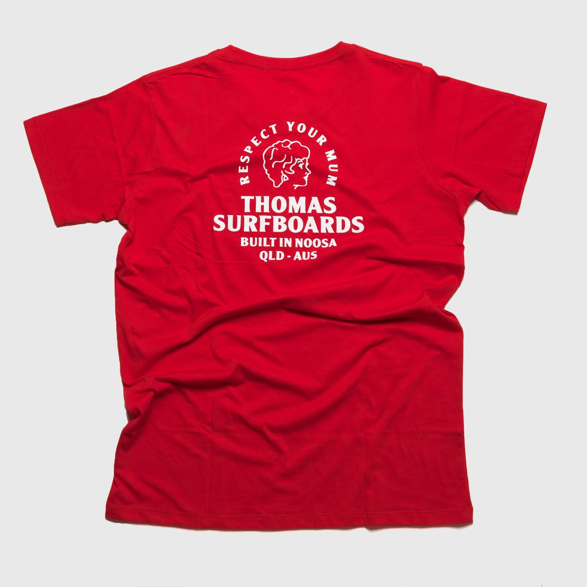 Thomas Girl Head T-Shirt Red