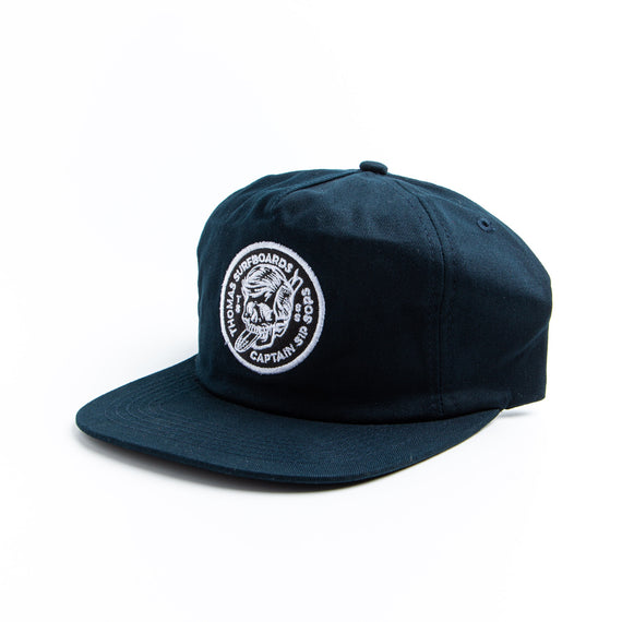 Thomas Surfboards & Captain Sip Sops Colab Stay Bold Hat Navy