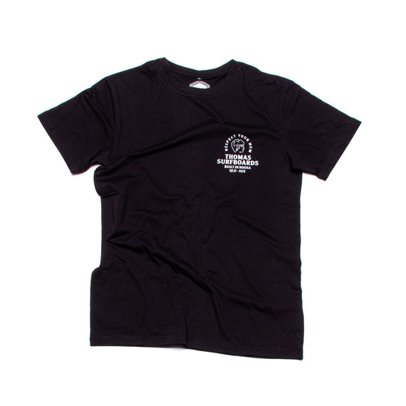 Thomas Girl Head T-Shirt Black
