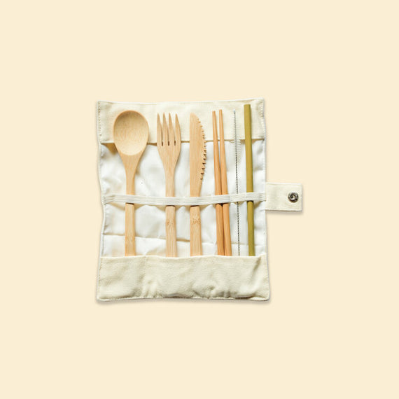 Morning Cuddles Bamboo Cutlery Set