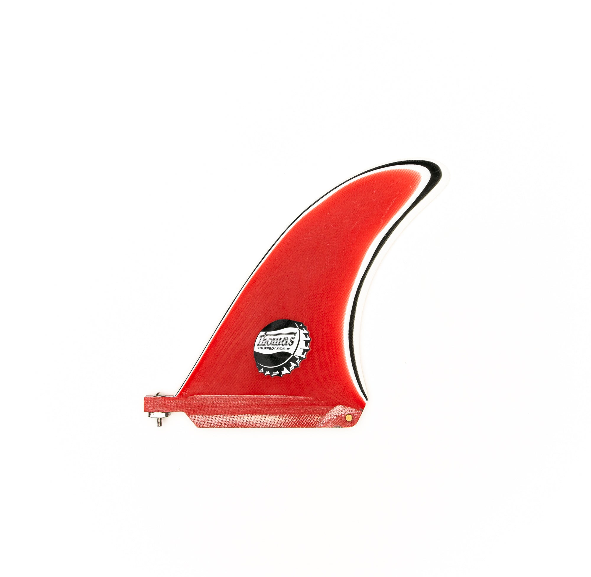 JB Single Fin Red | White | Black | White