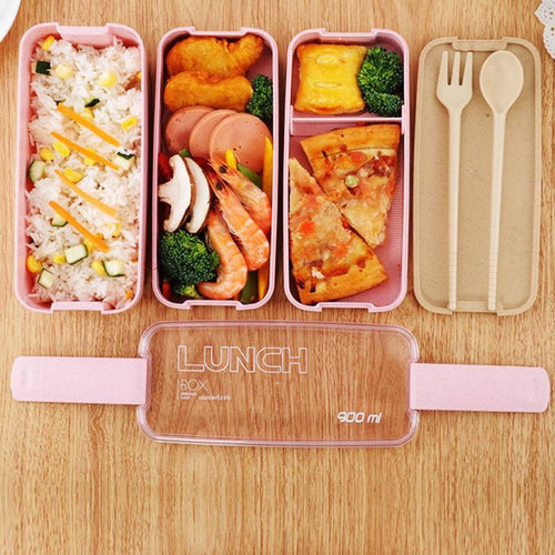Easy To Use 3 Layer Lunchbox