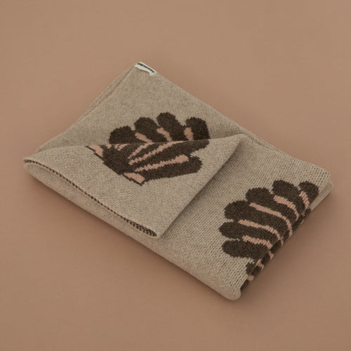 Igor Wool Blanket - Beach Shells