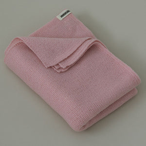Ilon Wool Blanket - Dusty Pink