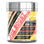 Amazing Muscle Pre Boost Pre-Workout with Caffeine 20 Servings (Cherry Lemonade)