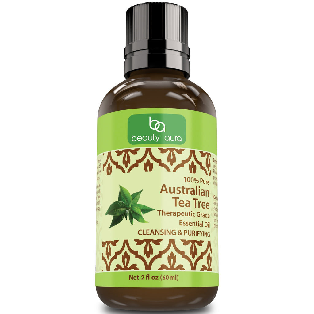 Beauty Aura Australian Tea Tree Oil 2 Oz