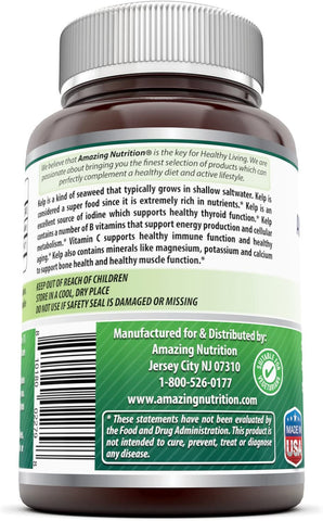 Image of Amazing Formulas Kelp 150 Mcg 240 Tablets