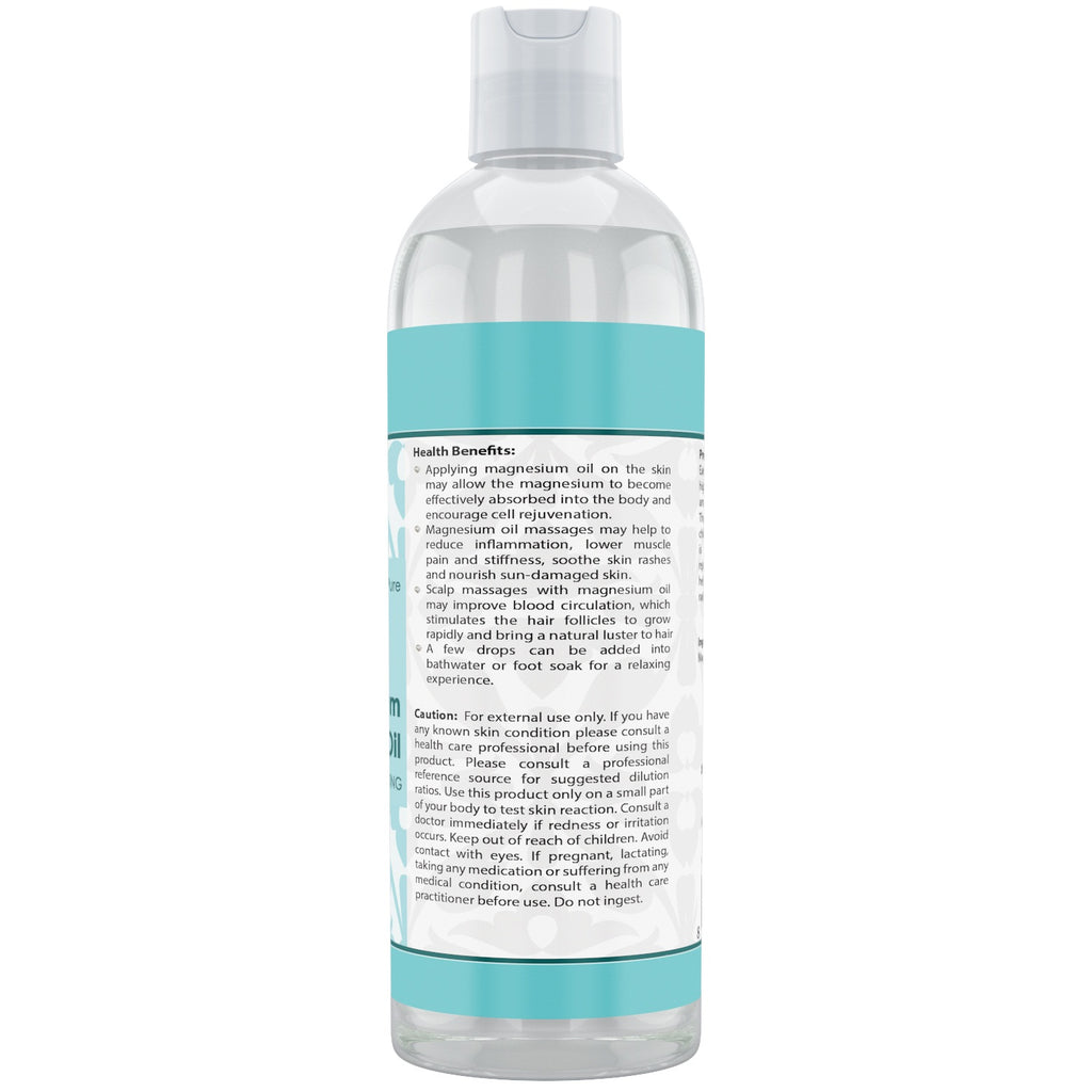 Beauty Aura Magnesium Oil 8 Oz