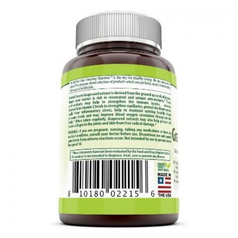 Image of Herbal Secrets Grapeseed Extract 100 Mg 120 Capsules