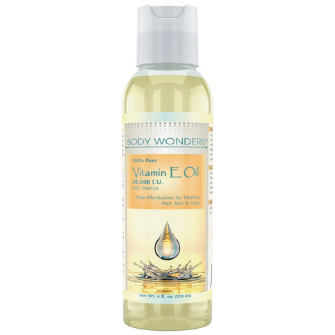 Body Wonders Vitamin E Oil 4 Fl Oz (118 Ml)