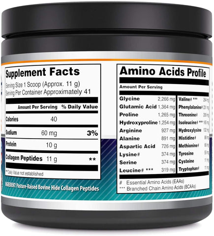 Amazing Formulas Hydrolyzed Collagen Peptides Unflavored 16 oz
