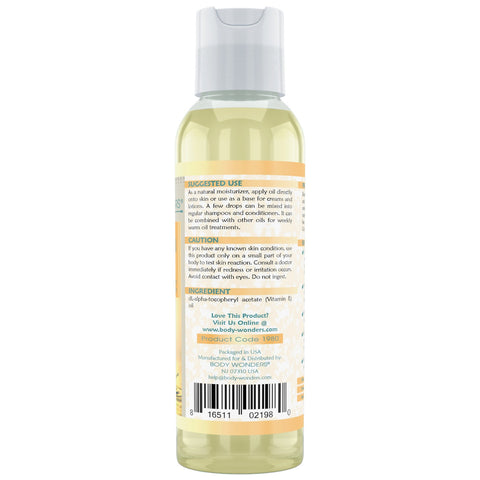 Image of Body Wonders Vitamin E Oil 4 Fl Oz (118 Ml)