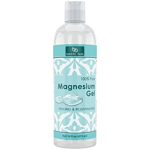 Image of Beauty Aura 100% Pure Magnesium Gel 16 Fl Oz