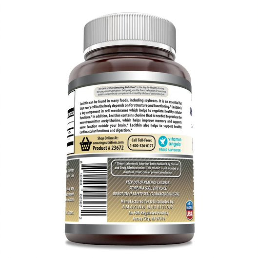 Amazing Formulas Lecithin 1200 mg 240 Softgels