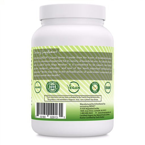 Image of Amazing India Organic Neem Powder 16 Oz