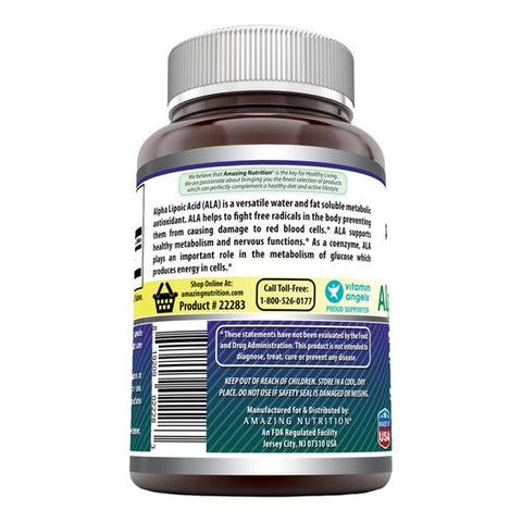 Image of Amazing Formulas Alpha Lipoic Acid 600 Mg 240 Capsules