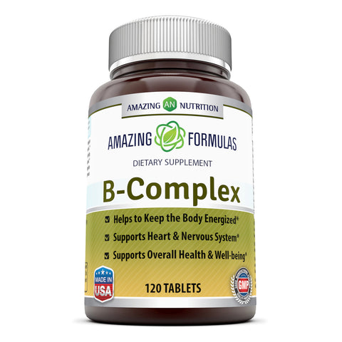Image of Amazing Formulas B Complex 120 Tablets