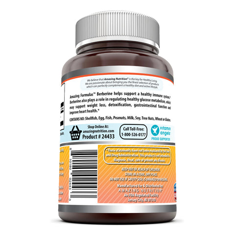 Image of Amazing Formulas Berberine 1000 Mg ps 120 Capsules