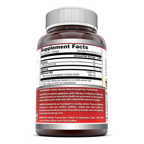Image of Amazing Formulas CLA 1000 Mg 180 softgels