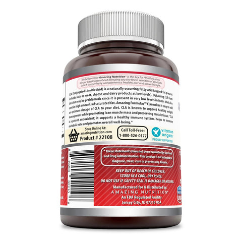 Image of Amazing Formulas CLA 1250 Mg 240 Softgels