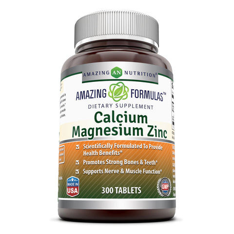 Image of Amazing Formulas Calcium Magnesium Zinc 300 Tablets