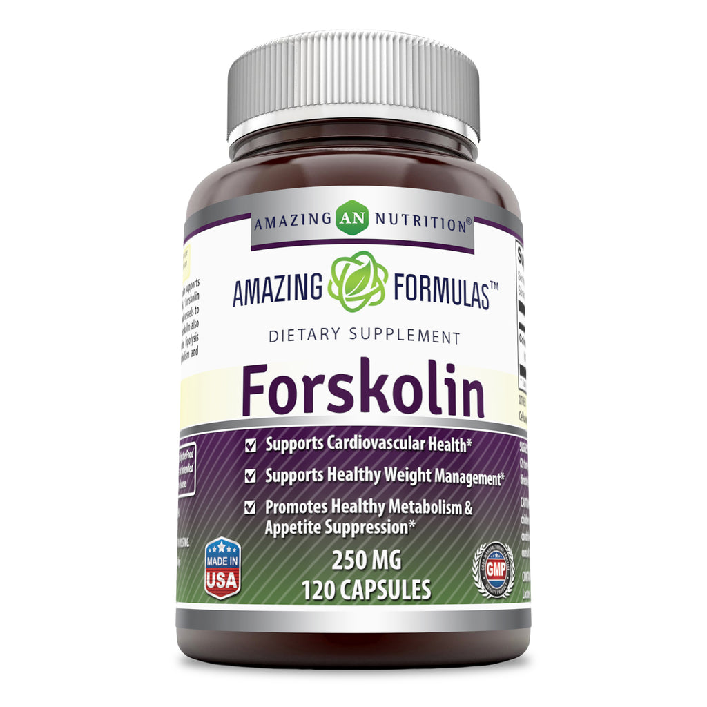 Amazing Formulas Forskolin Extract 250 Mg 120 Capsules