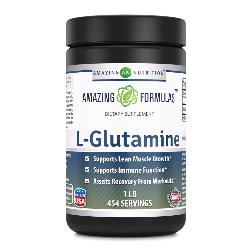 Amazing Formulas L Glutamine 1 Lb 454 Servings