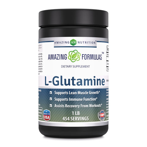 Image of Amazing Formulas L Glutamine 1 Lb 454 Servings