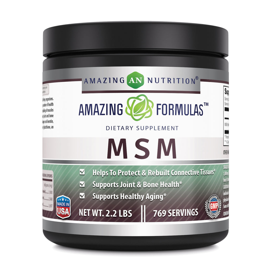 Amazing Formulas MSM Powder 2.2 Lbs 769 Servings