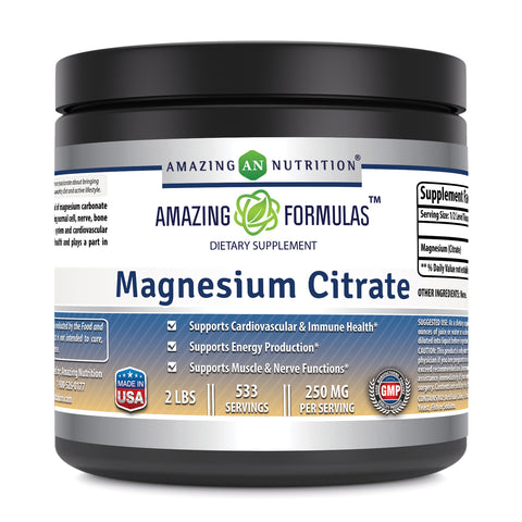 Amazing Formulas Magnesiumn Citrate 2 Lbs Powder