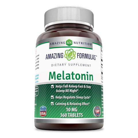 Amazing Formulas Melatonin 10 Mg 360 Tablets