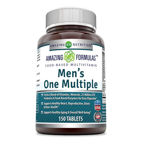 Amazing Formulas Men's One Multiple 150 Tablets
