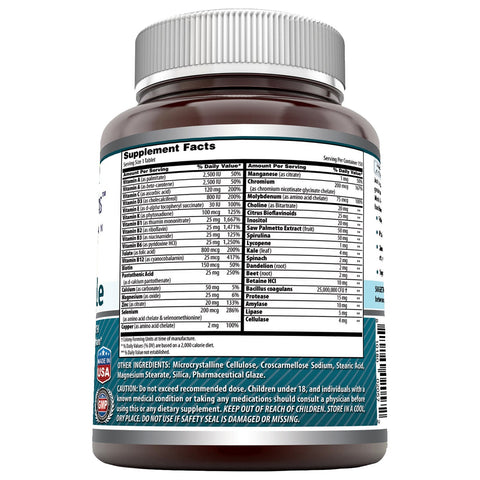 Image of Amazing Formulas Men's One Multiple 150 Tablets