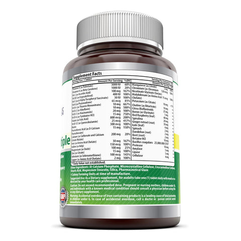 Image of Amazing Formulas Prenatal One Multiple 150 Tablets