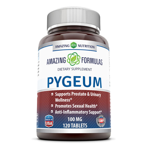 Image of Amazing Formulas Pygeum 100 Mg 120 Capsules - Amazing Nutrition