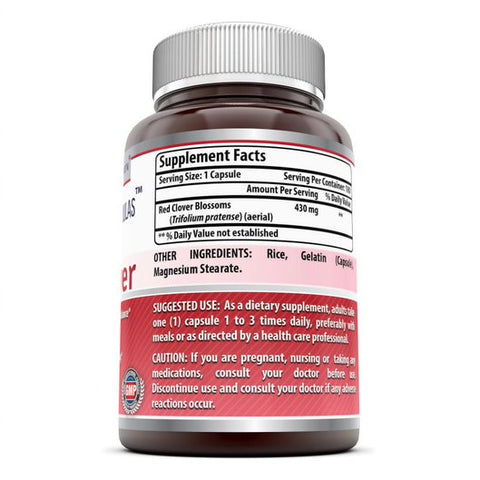 Amazing Formulas Red Clover 430 Mg 180 Capsules