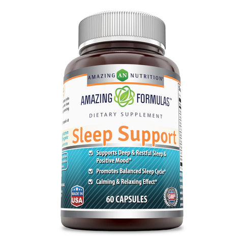 Image of Amazing Formulas Sleep Support 60 Capsules
