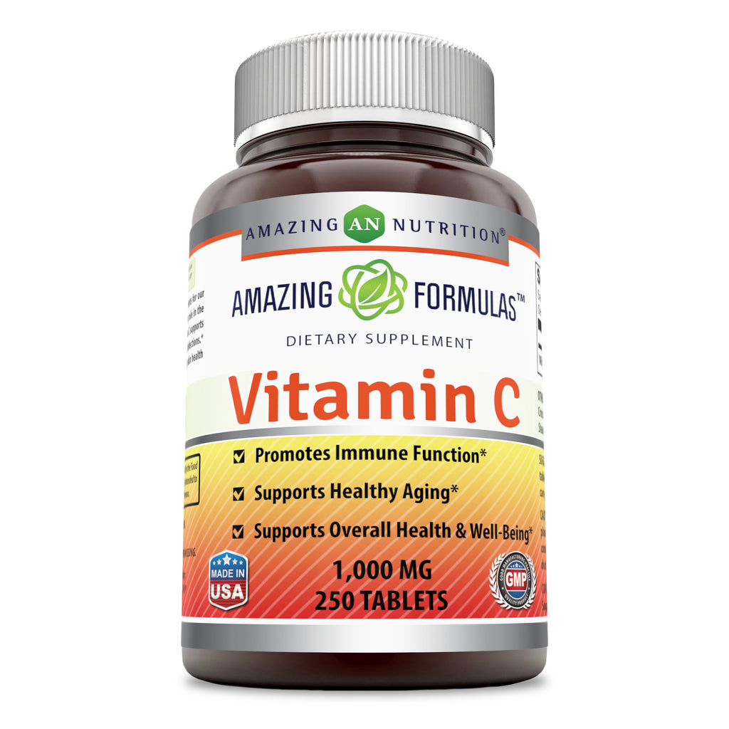 Amazing Formulas Vitamin C 1000 Mg 250 Tablets