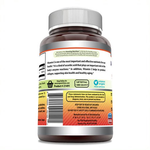 Image of Amazing Formulas Vitamin C Orange Flavor 500 Mg 500 Chewable Tablets